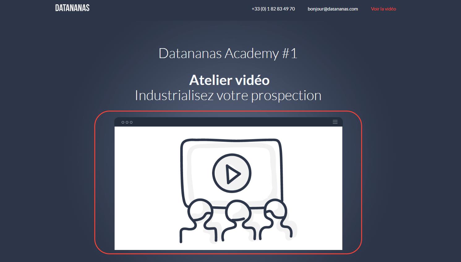 Marketing de contenu : Webinar Capture