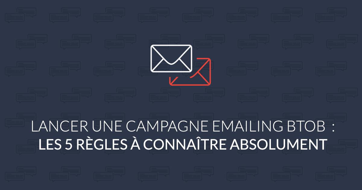 campagne emailing BtoB