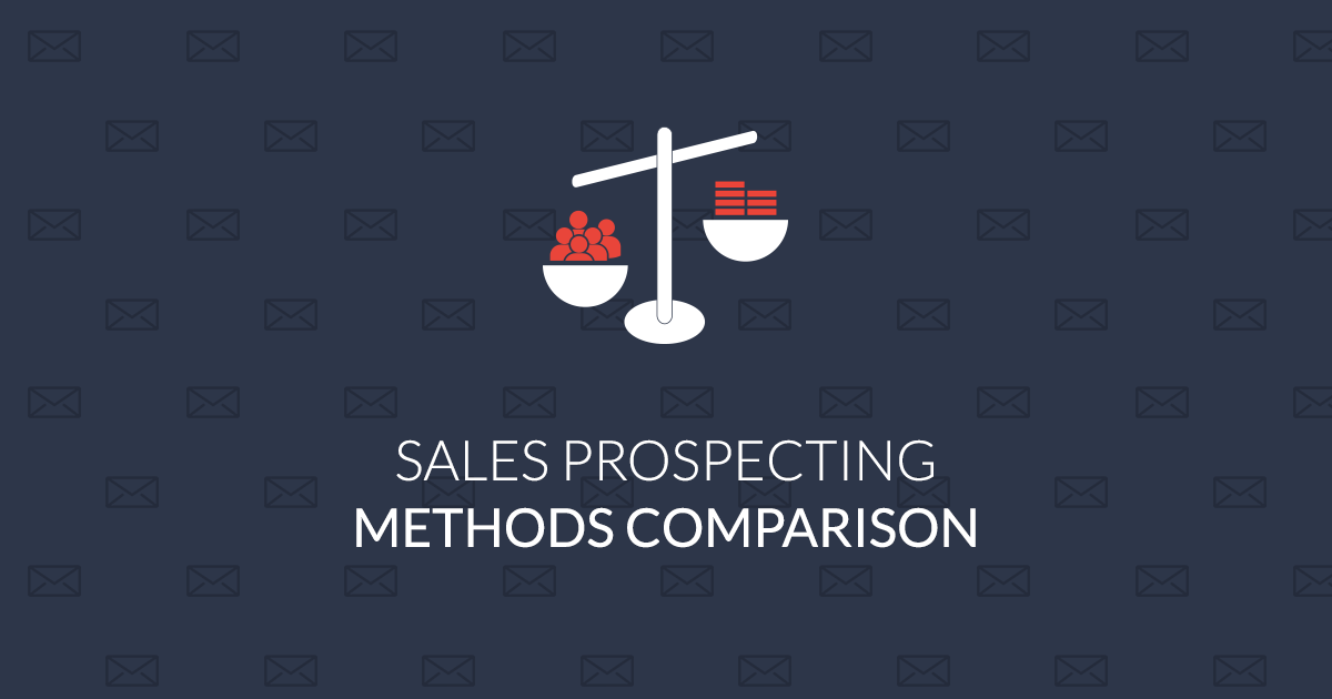 Sales prospecting methods comparison