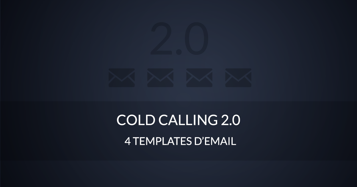 Cold calling 2.0 templates email