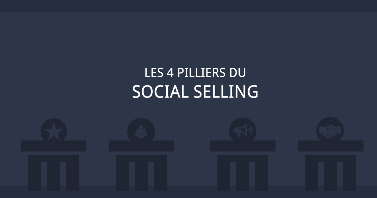 4 piliers social selling