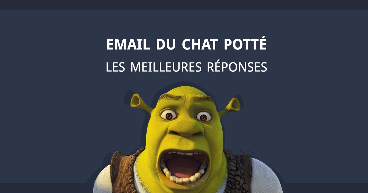 Chat Potte les meilleures reponses aux mails BtoB