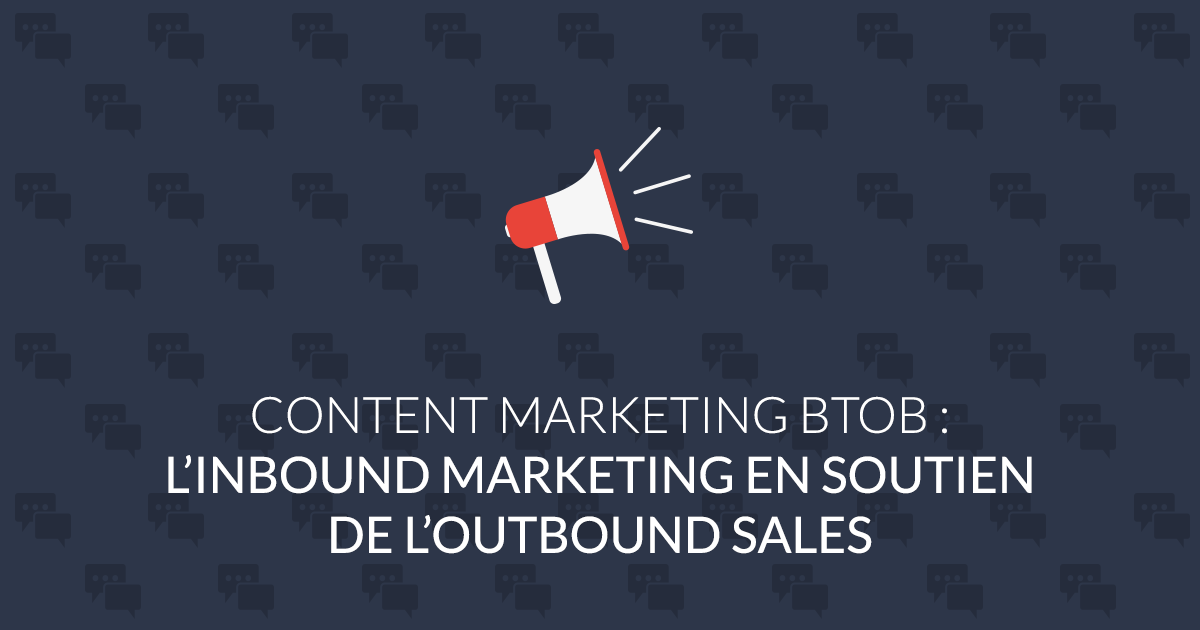 Content marketing BtoB