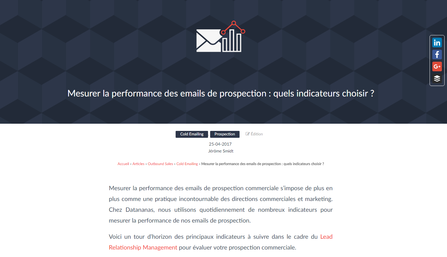 Marketing de contenu : Capture Blog