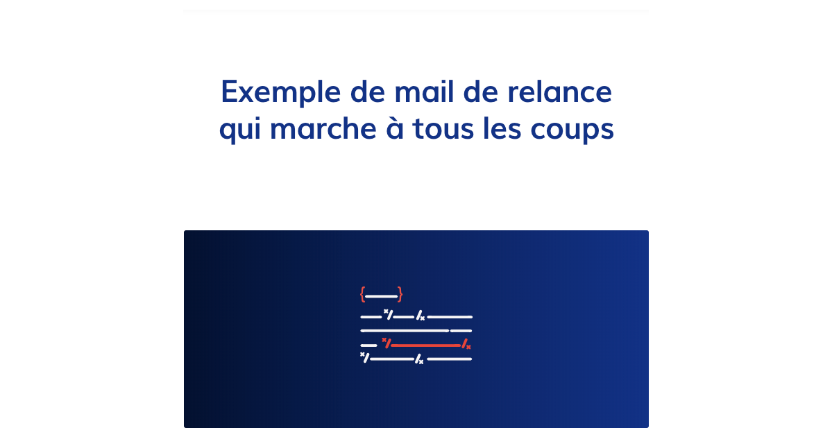 exemple mail prise de contact professionnel
